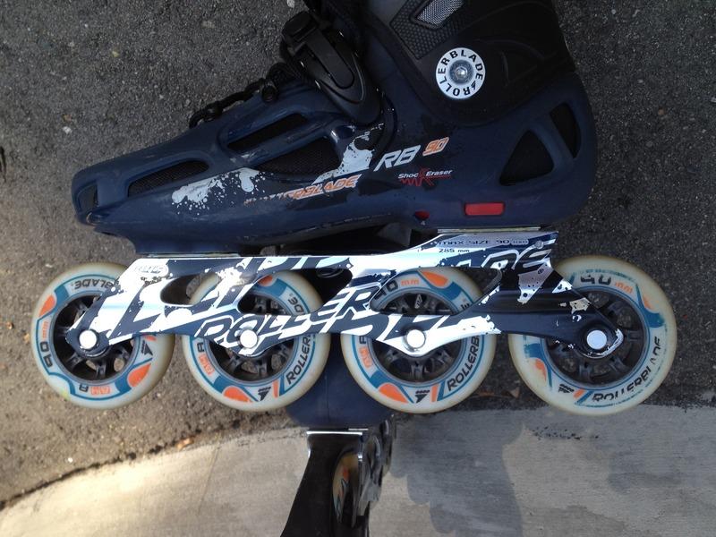 Rocess roller blades 45 - 1/2